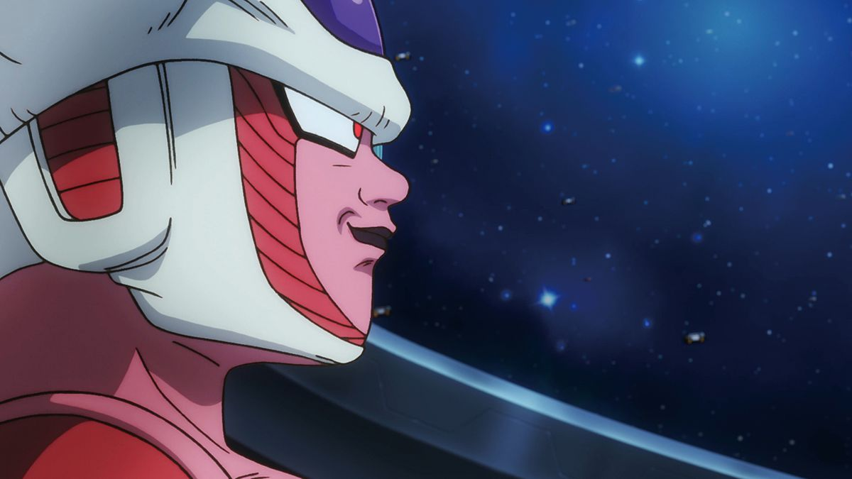 Dragon Ball Super: Broly - Frieza hanging out on his ship
