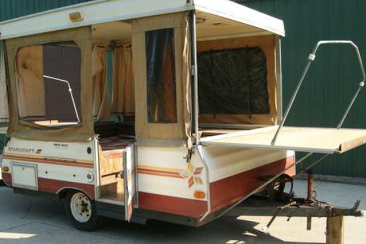 Arcane Coffee will retrofit this vintage trailer for pop-ups.