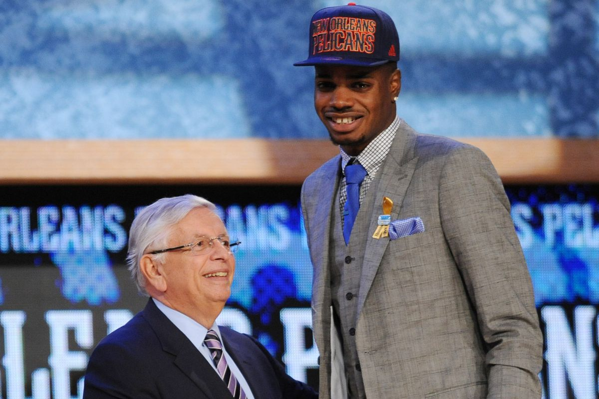 Stamplers Take My 2013 Nba Draft Diary Pounding The Rock