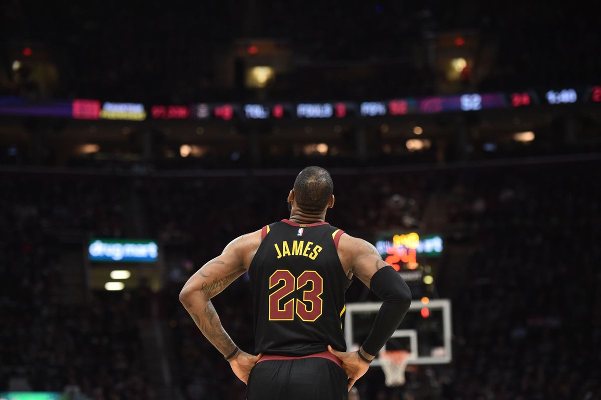 c646c0cc7424 Cavaliers playoffs 2018  LeBron James  46-point game was both ...