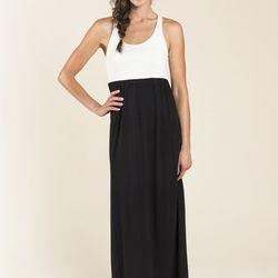 "<a href=""http://buckleyk.com/shop/cabana-dress-ivory-black"">The Cabana Dress</a>, $148"