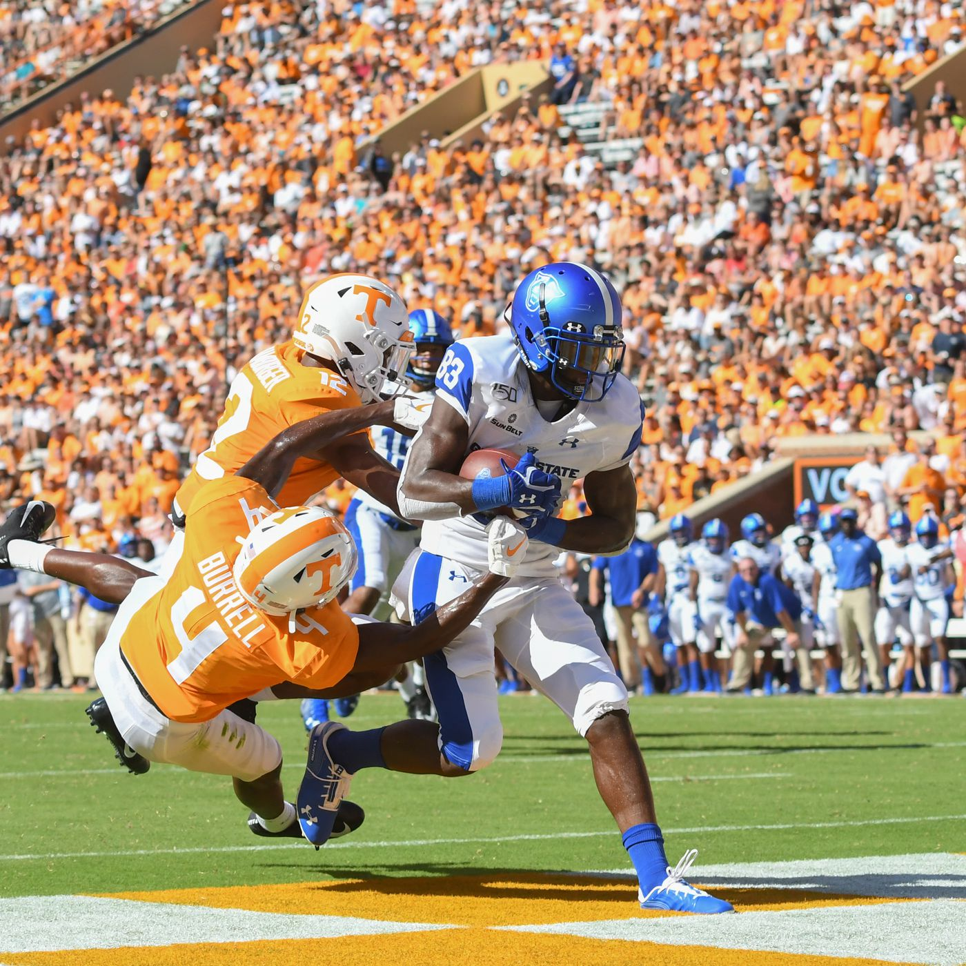 Tennessee Vols Football falls at home to Georgia State