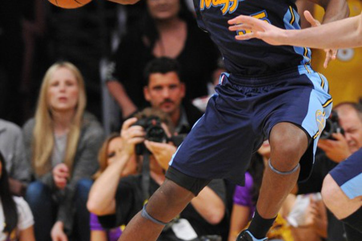 Expect to see Faried adding post-moves to his game this summer.