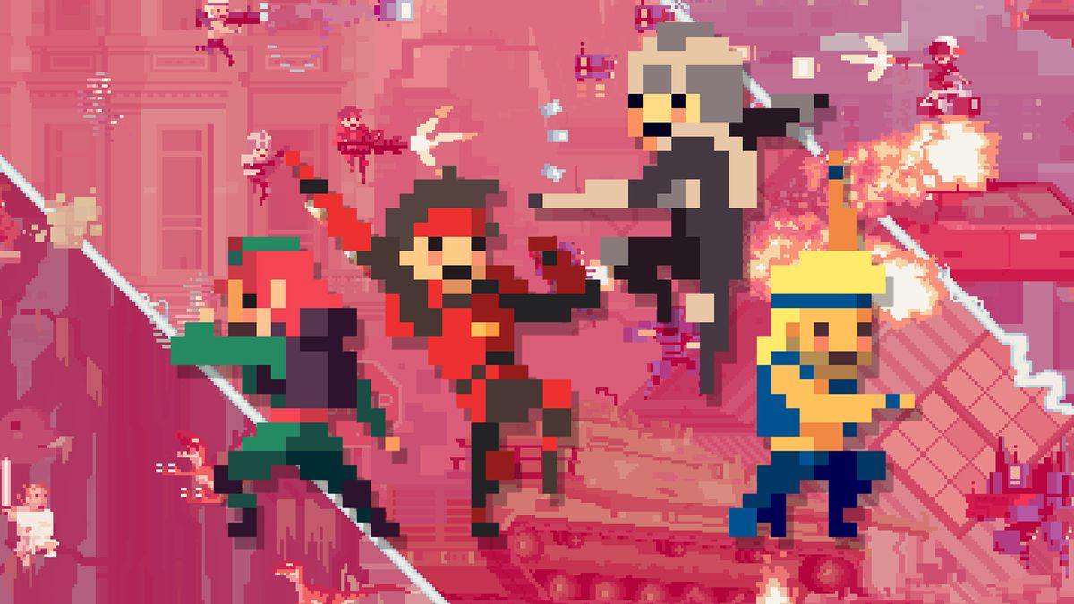 Super Time Force hero