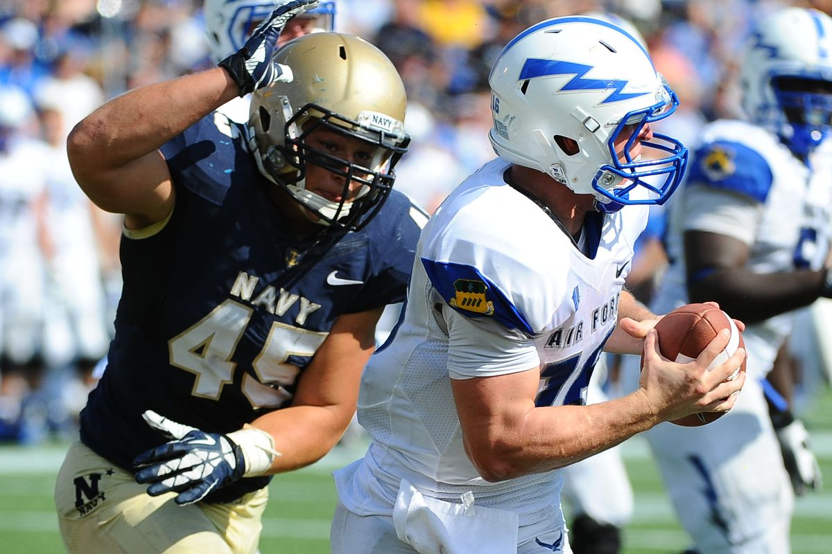 College Football-Air Force at Navy