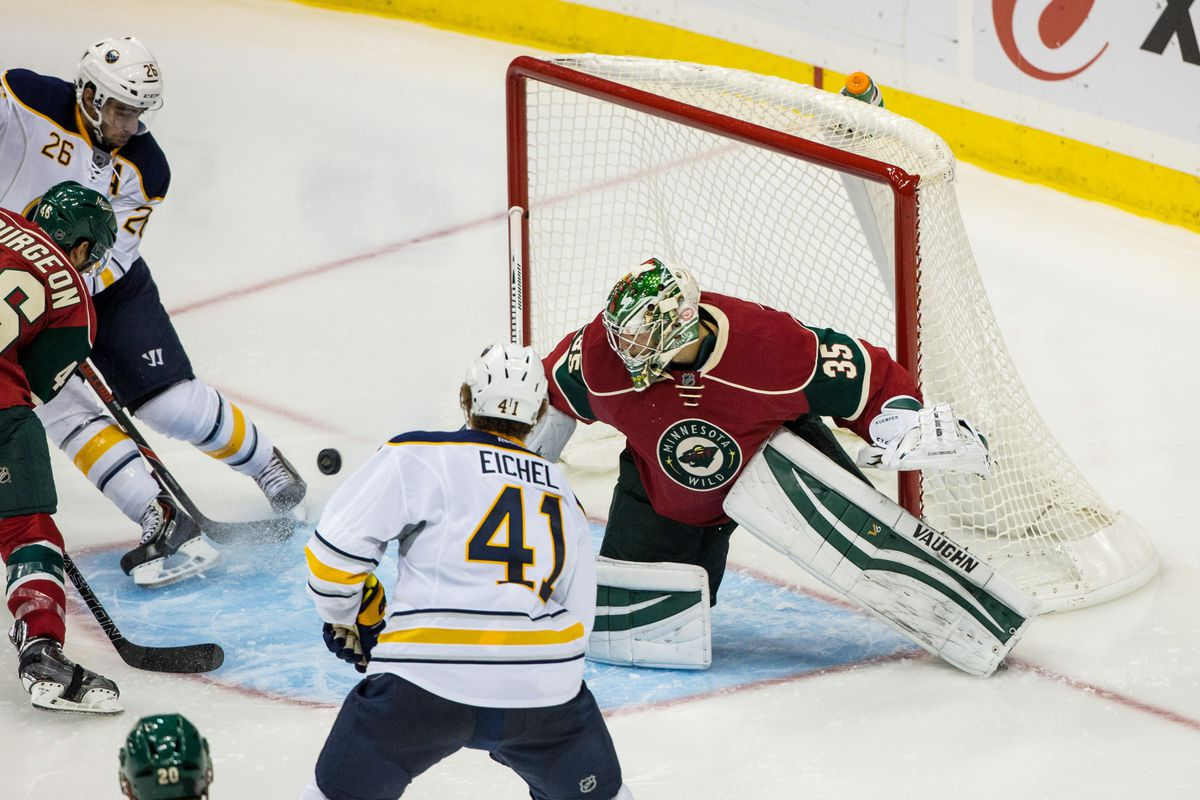 Eichel gets to face Dubnyk this time around.