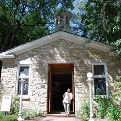Pioneer Village's rock chapel originally stood on Coalville's Main Street, where it served as a fort, a court and a school before become a church in 1869. Inside today are pews, a lectern, an organ and dozens of photographs, painted portraits and other memorabilia.