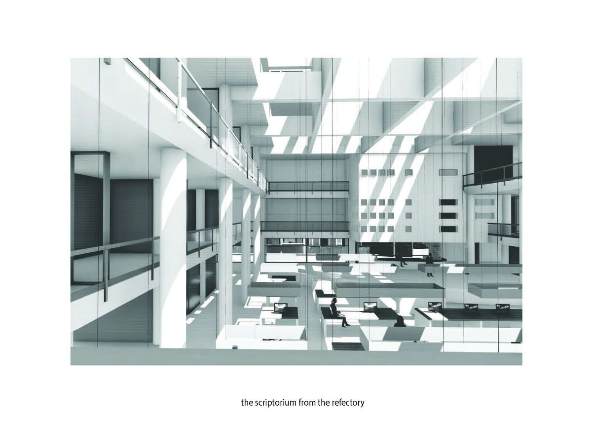 A rendering of a student project.
