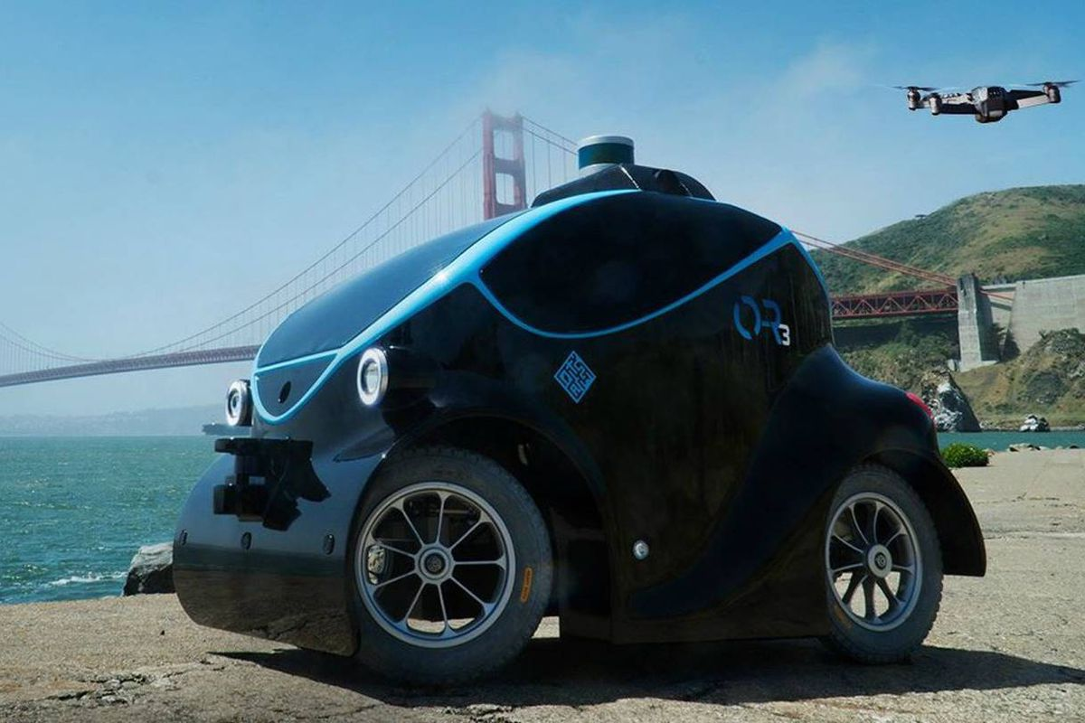 Mini Driverless Cop Cars to Hunt for Criminals in Dubai