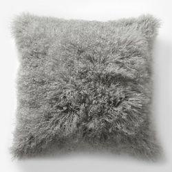 "Mongolian Lamb Pillow Cover, <a href=""http://www.westelm.com/products/mongolian-lamb-pillow-cover-platinum-16-sq-t599/?pkey=e|lamb%2Bpillow|16|best|0|1|24||15&cm_src=PRODUCTSEARCH||NoFacet-_-NoFacet-_-Pillows%20Shipping-_-"">$69</a>"
