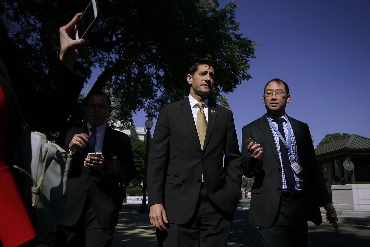 """Paul Ryan is asking for party government without the """"condition."""""""