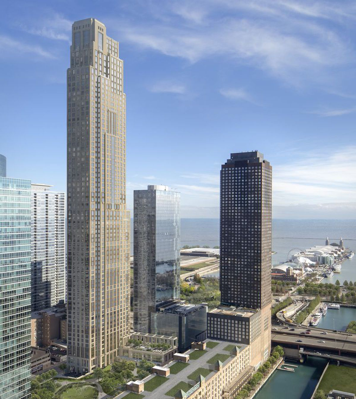 New Apartment Buildings Chicago: Checking In On Robert A.M. Stern's 67-story One Bennett