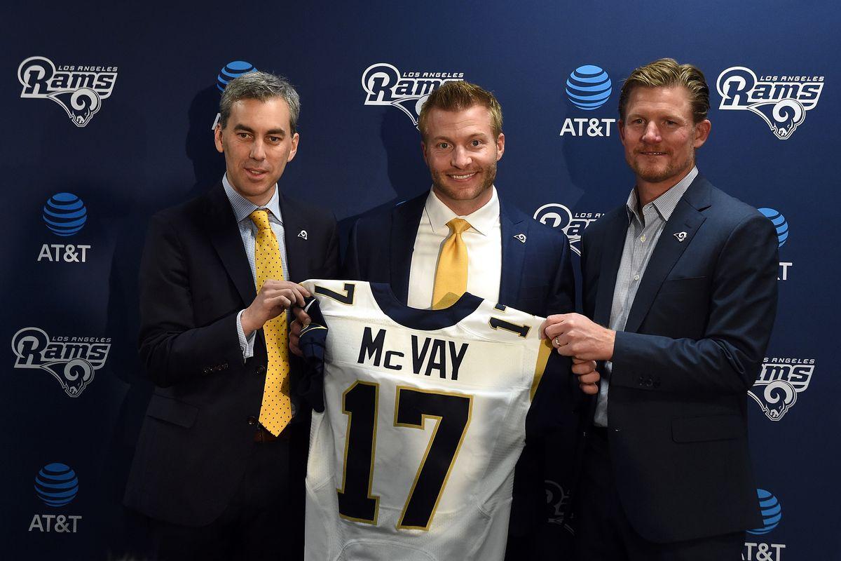 Los Angeles Rams Introduce Sean McVay - News Conference