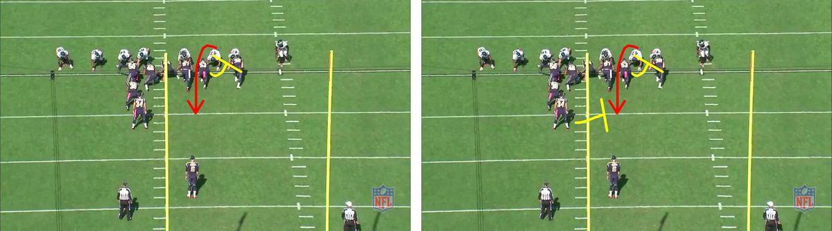 Eagles Punt Return vs STL 1A