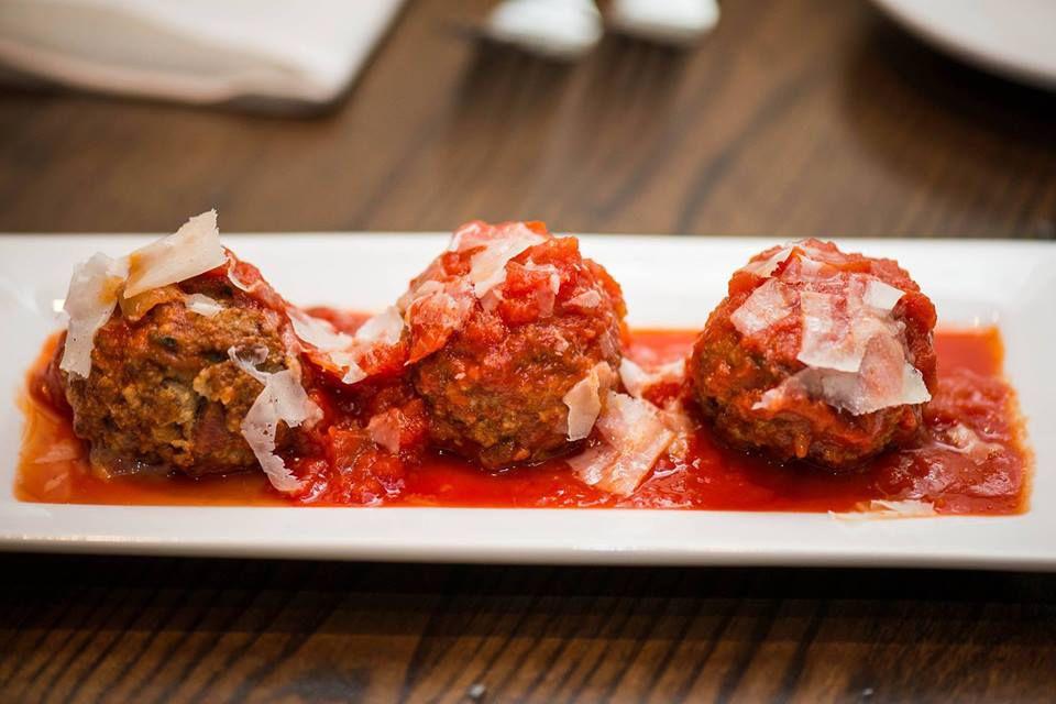 Meatballs at Andiamo
