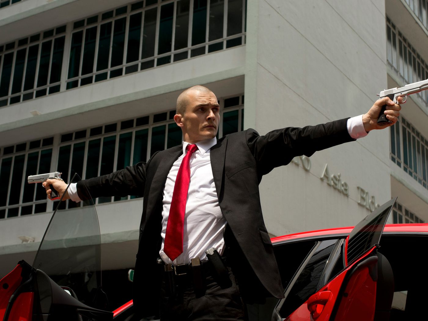 Here S A First Look At Agent 47 In The Upcoming Movie Hitman