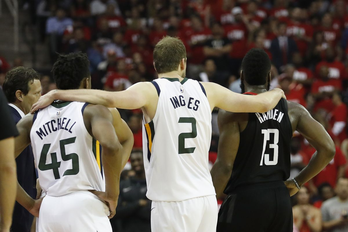 2018 NBA Playoffs  Utah Jazz looking to bounce back against the Rockets 807a76fae