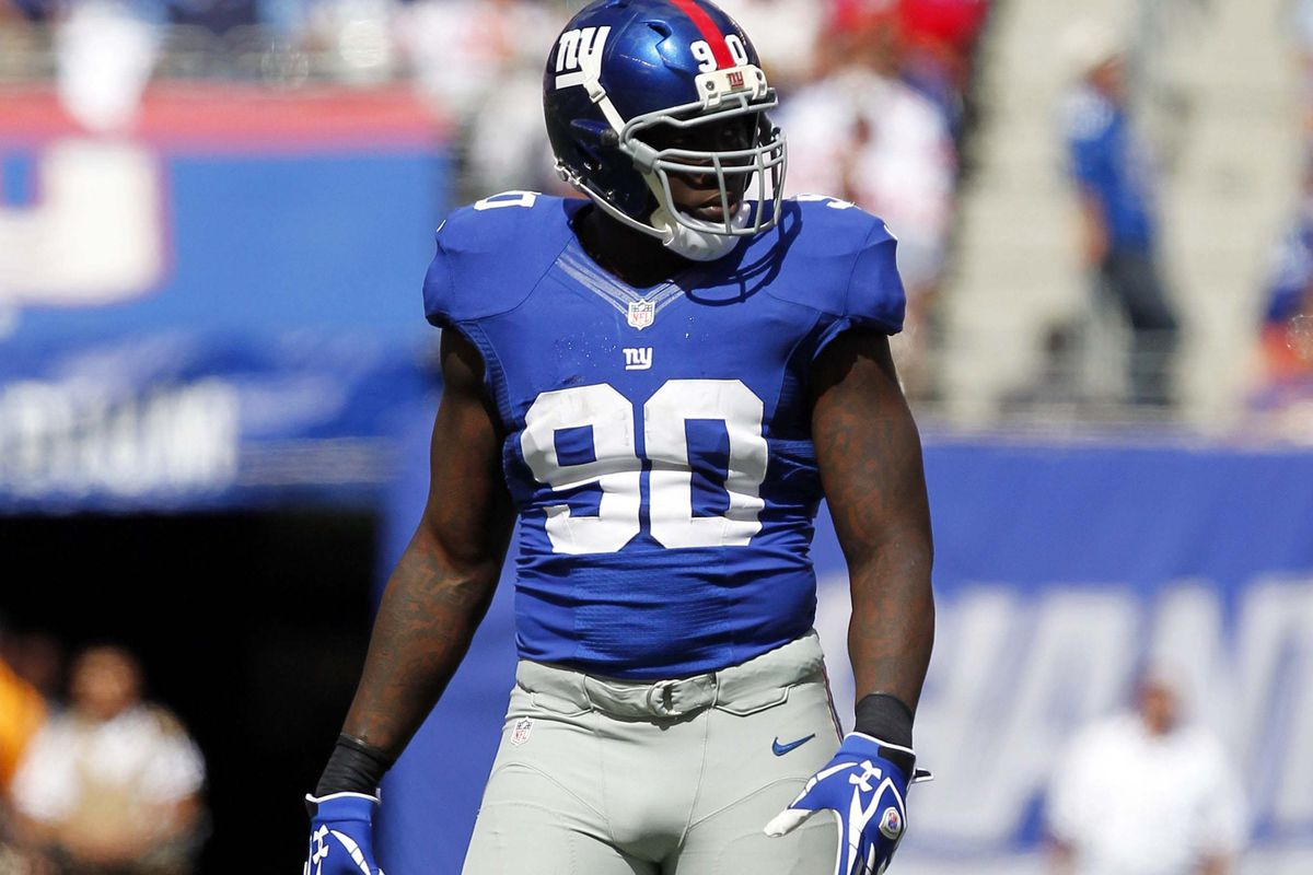 Tom Coughlin said Wednesday that Jason Pierre-Paul was out of shape last season
