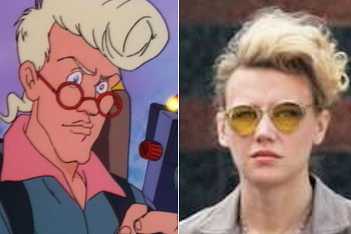 Why Kate Mckinnon S Ghostbusters Character Looks So Familiar The Verge