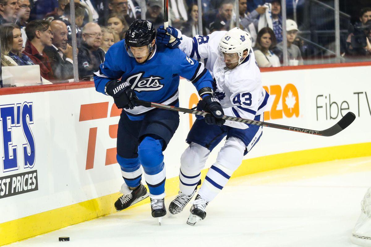 NHL: Toronto Maple Leafs at Winnipeg Jets