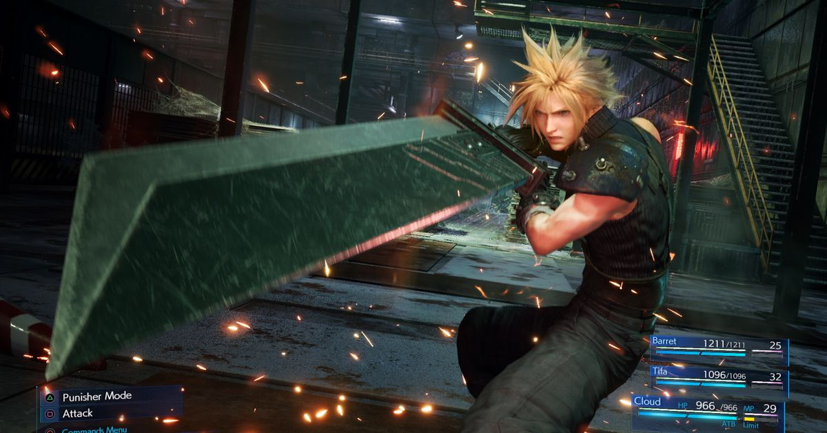 Final Fantasy 7 Remake turn-based 'Classic Mode' announced at TGS 2019