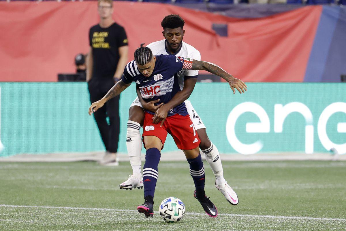 SOCCER: AUG 20 MLS Philadelphia Union at New England Revolution