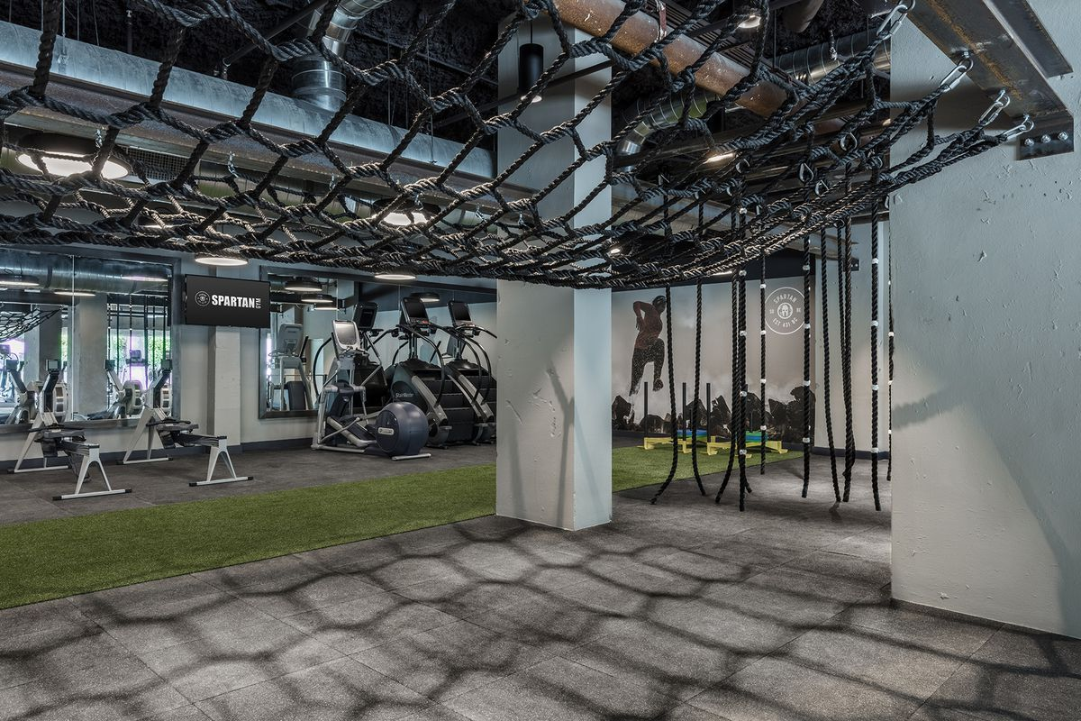 Tour 1 Hotel South Beach S New Spartan Gym Curbed Miami