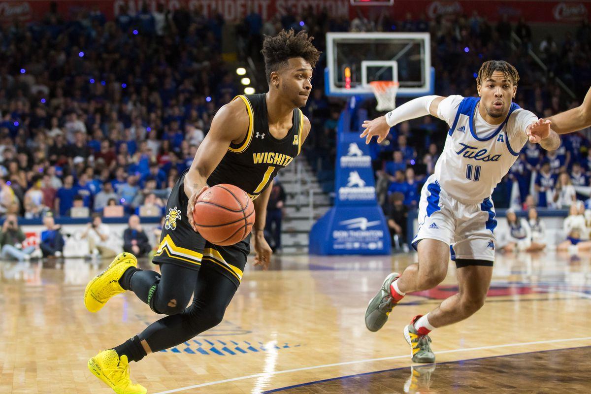 NCAA Basketball: Wichita State at Tulsa