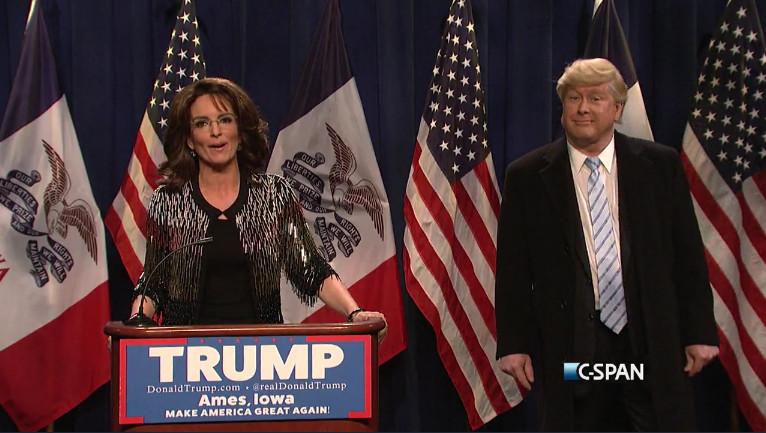Tina Fey, Darrell Hammond, Saturday Night Live