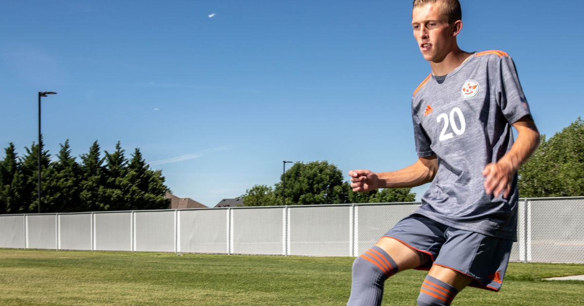 High school boys soccer: Competitive to the core, Skyridge's Austin Wallace named 2021 Deseret News Mr. Soccer