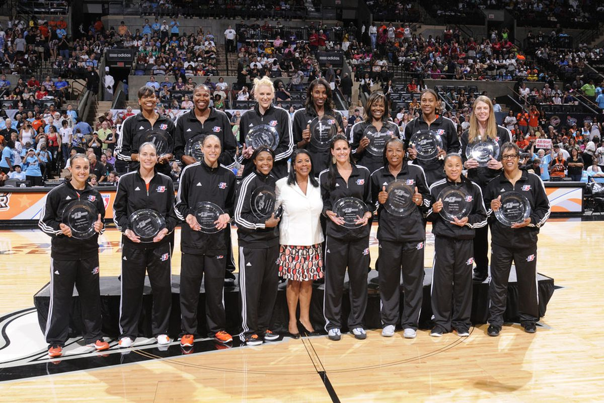 Which of these 15 players would be on your WNBA Mount Rushmore?