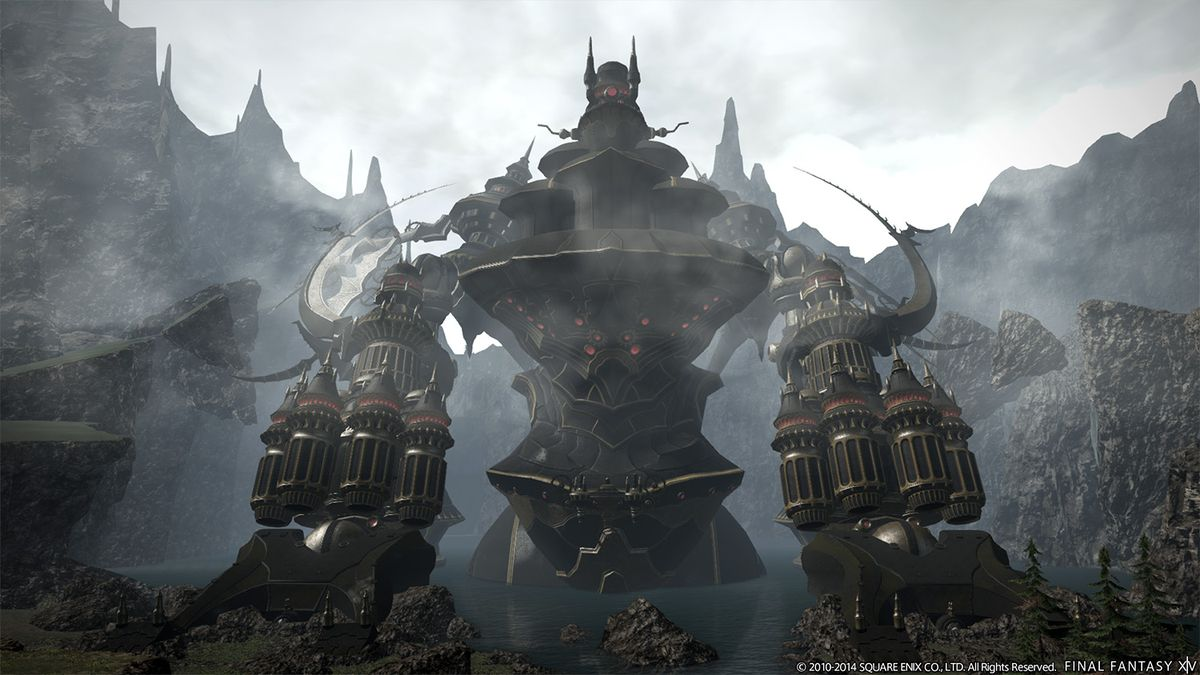 Final Fantasy 14: Heavensward alexander