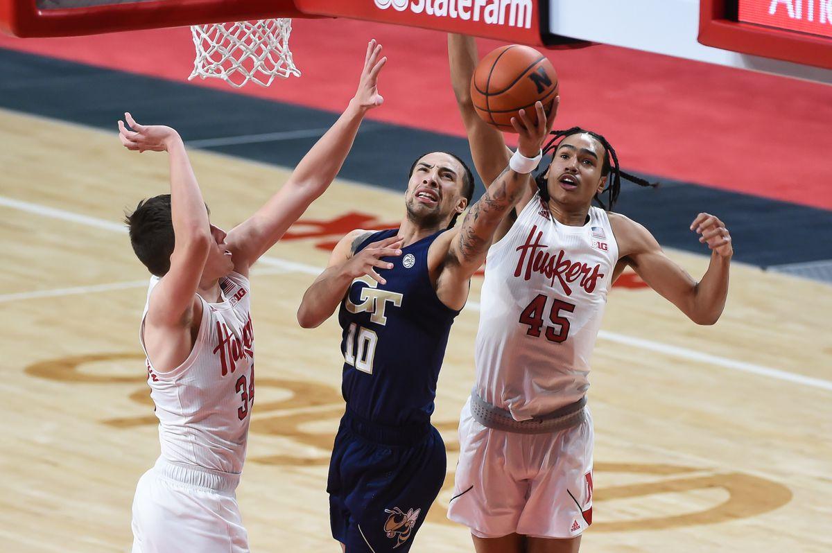 NCAA Basketball: Georgia Tech at Nebraska