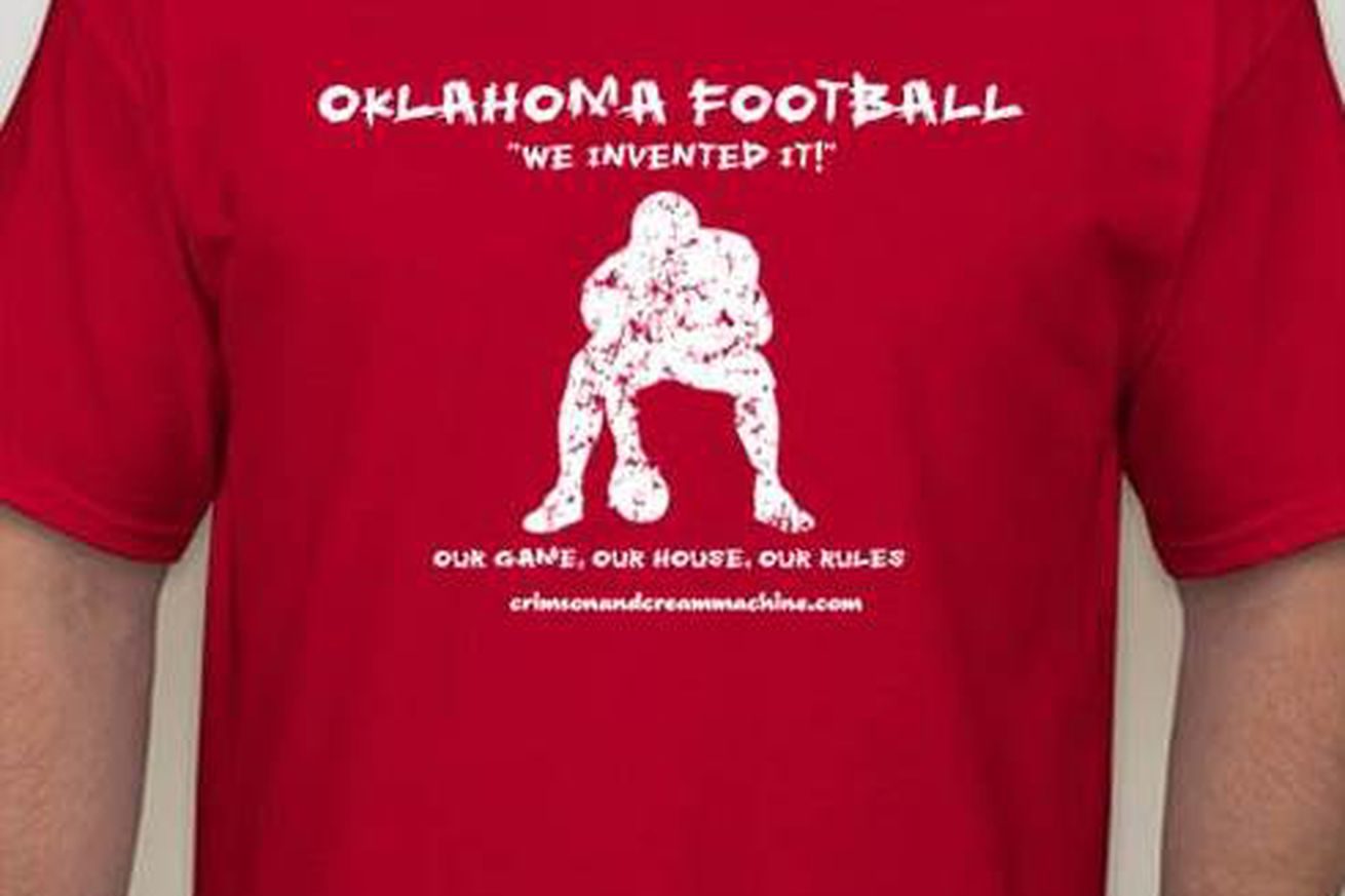 Weigh In Ccm S 2014 Oklahoma Football T Shirt Design Would You Buy