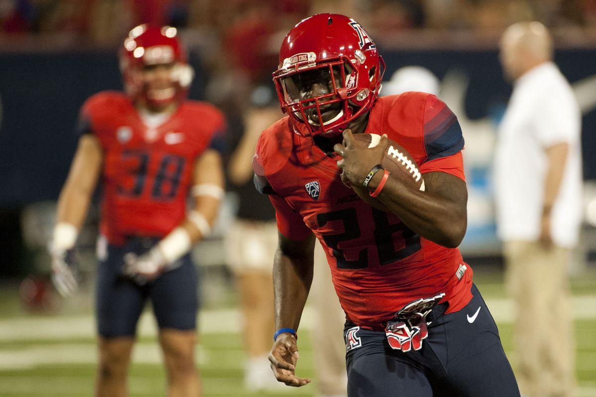 NCAA Football: Grambling State at Arizona