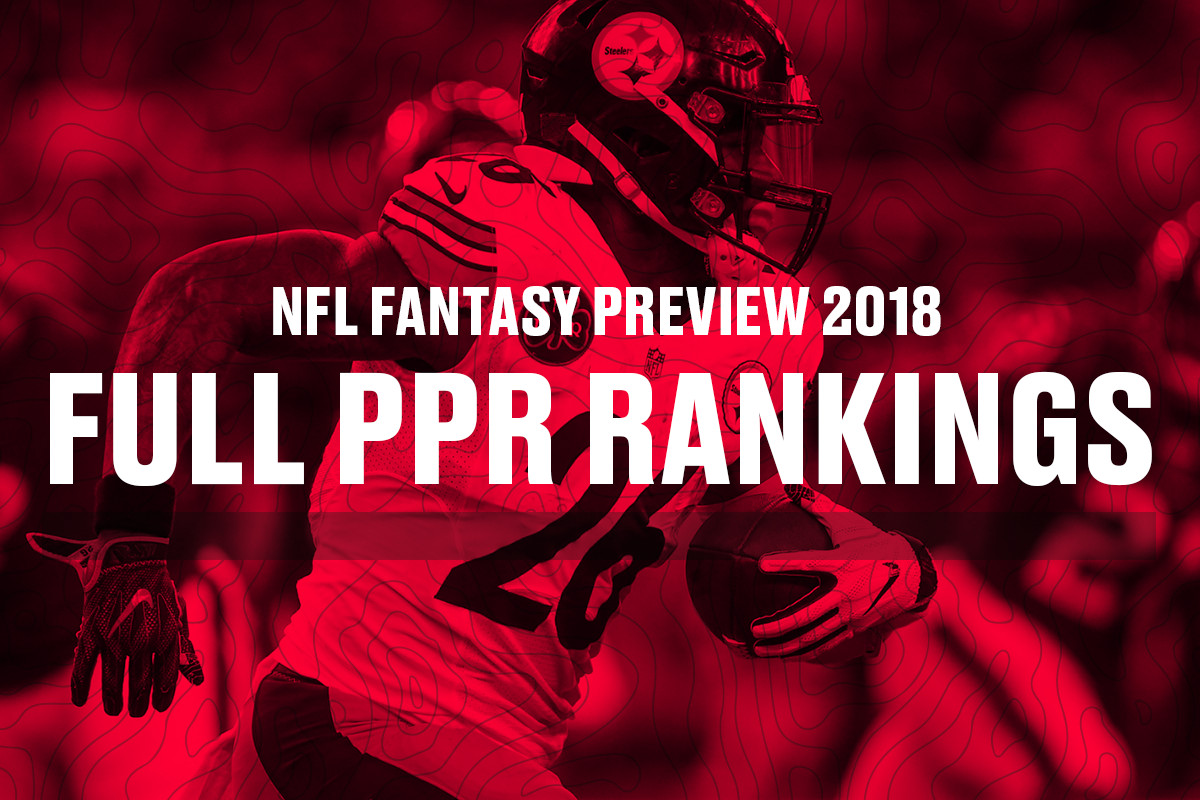 Fantasy Football Rankings 2018 The Top 150 Players In Ppr Leagues