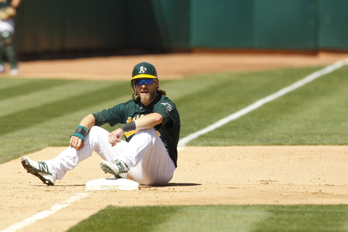 If Josh Reddick were a chopper hit by Angel Pagan, it would look something like this.