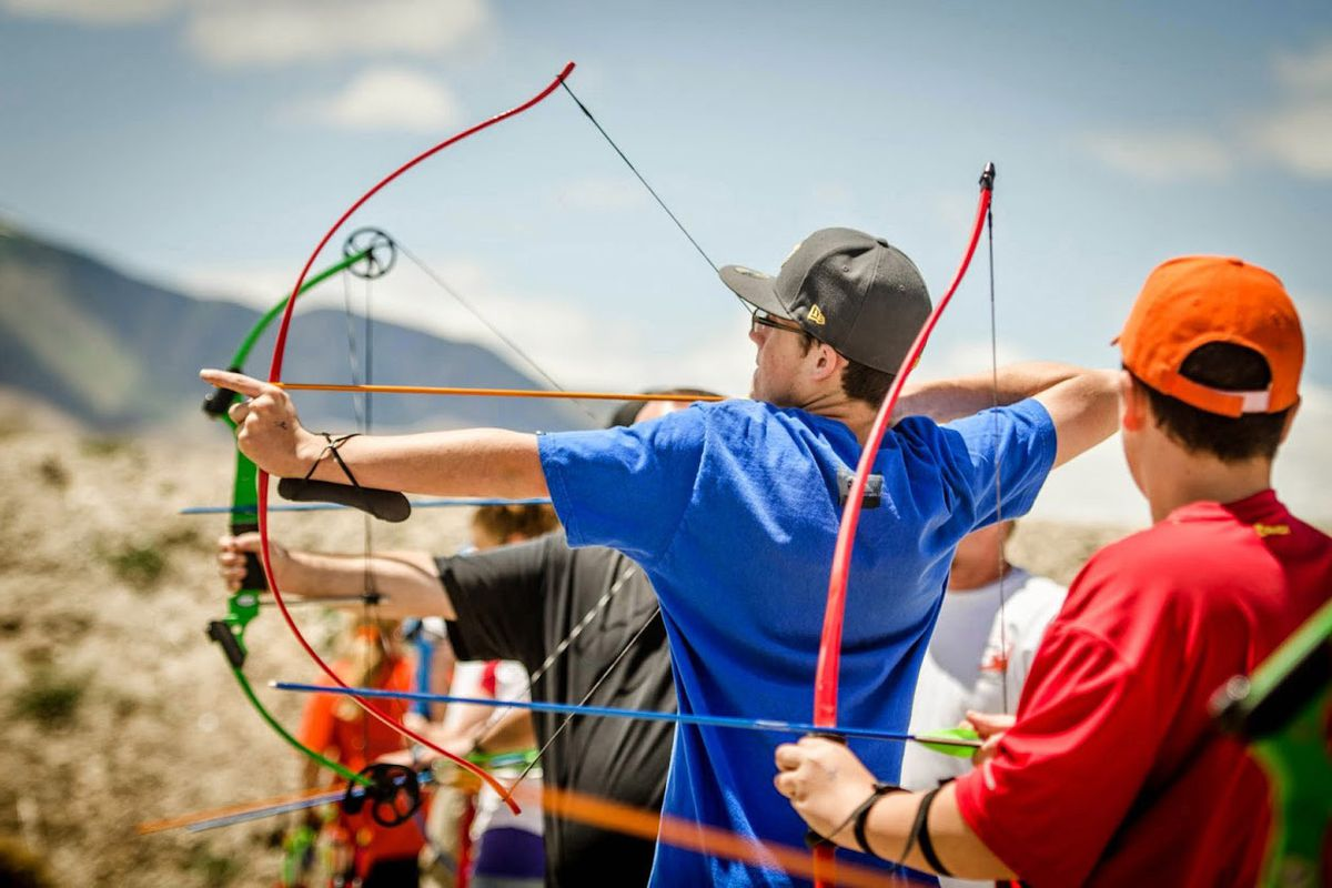 Archers can brush up on their skills during a free open house at the Lee Kay Public Shooting Range, 6000 W. 2100 South, on Saturday, Aug. 4, 2018.