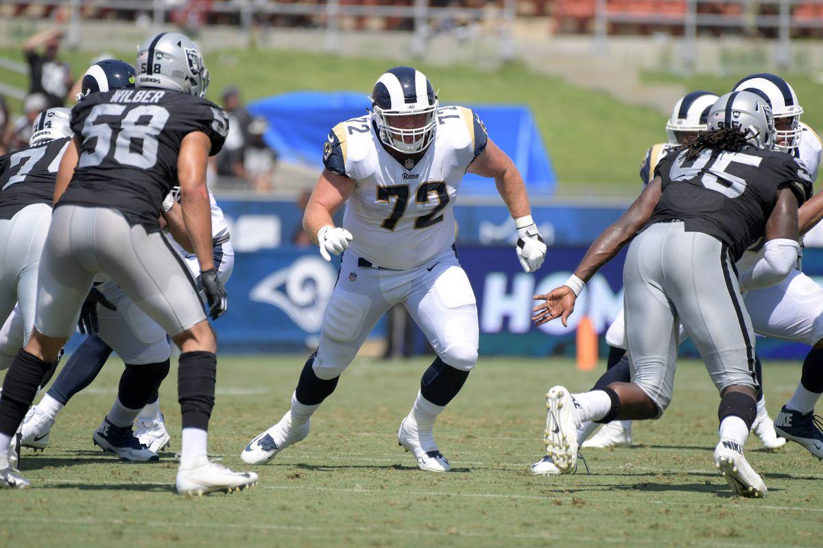 NFL: Oakland Raiders at Los Angeles Rams