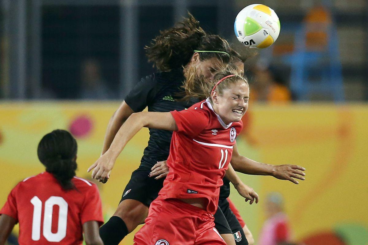 Pan Am Games: Soccer-Canada vs Mexico