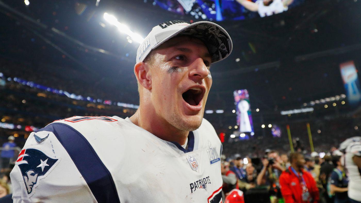 New England Patriots TE Rob Gronkowski announces retirement via Instagram