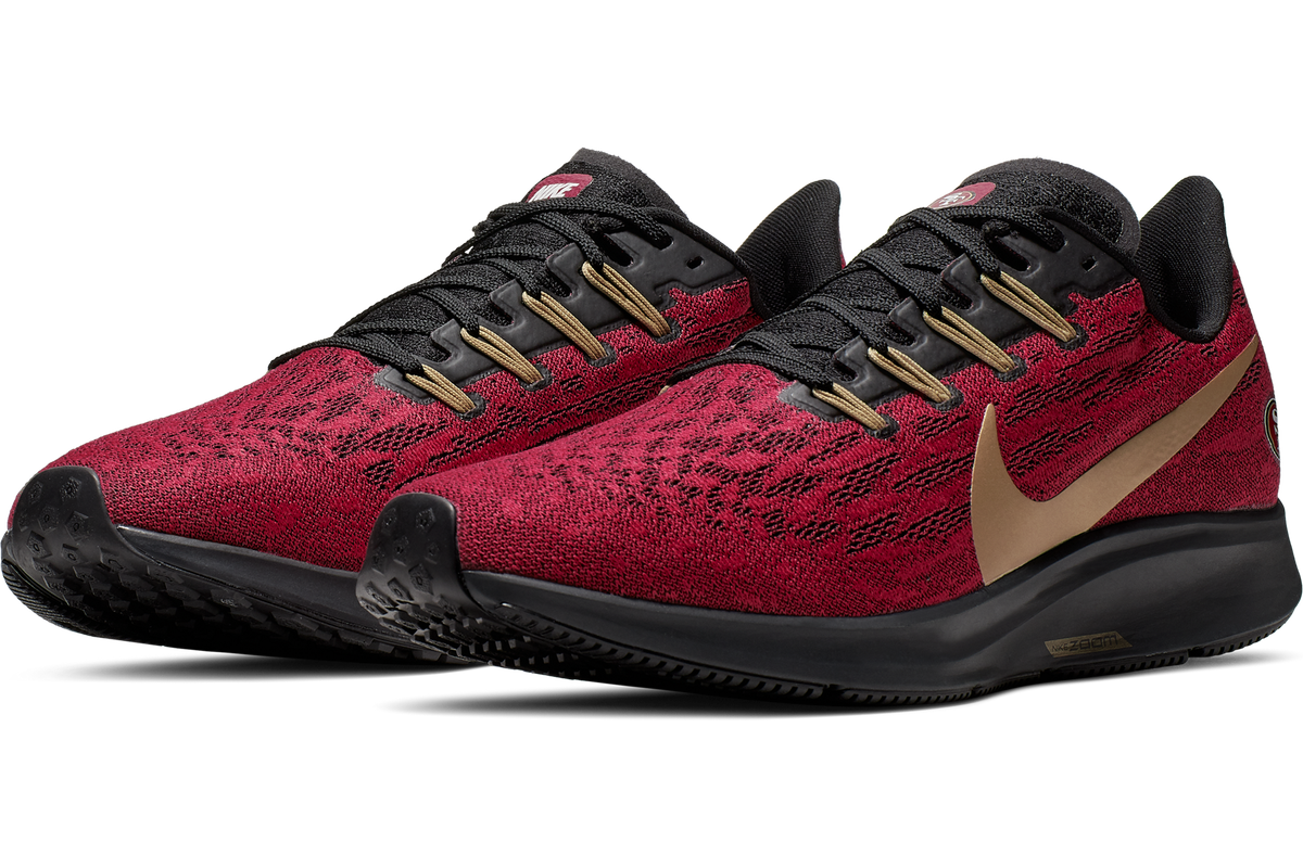 500e1fed Nike drops the new Air Zoom Pegasus 36 San Francisco 49ers Shoe ...