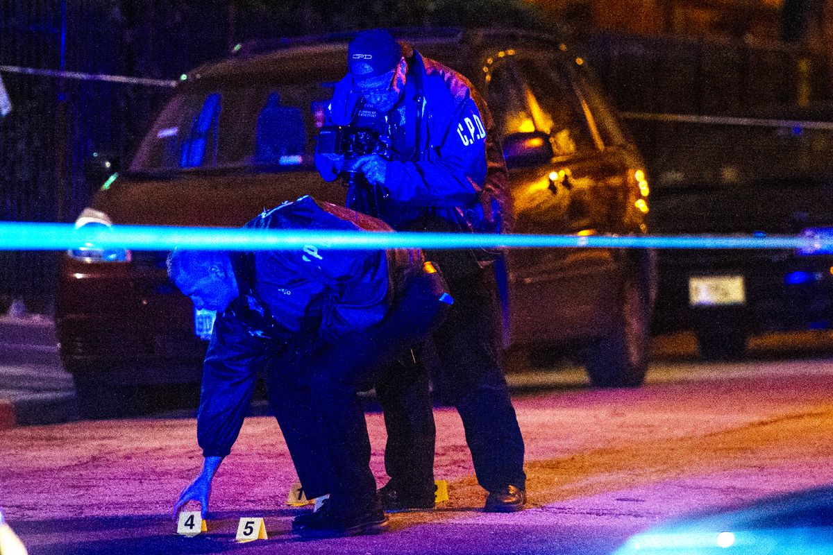 Monday shootings: Woman killed by gunfire is among 7 shot Monday in Chicago