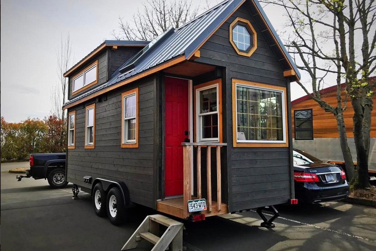 A luxury tiny house on wheels is full of big extras for Micro homes on wheels