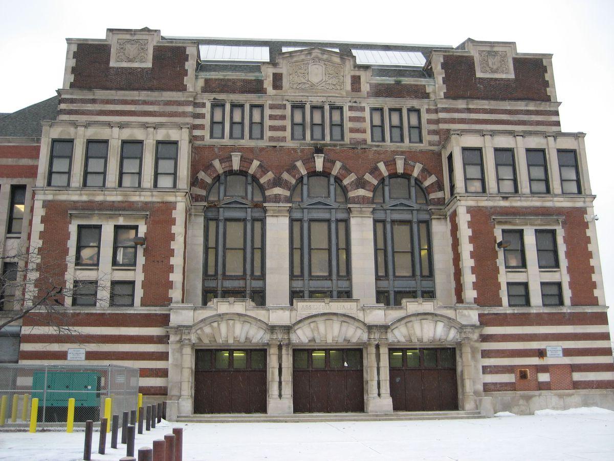 Marshall Metropolitan High School, 3250 West Adams Street, in West Garfield Park on the West Side, doesn't have an elevator like many school district buildings.