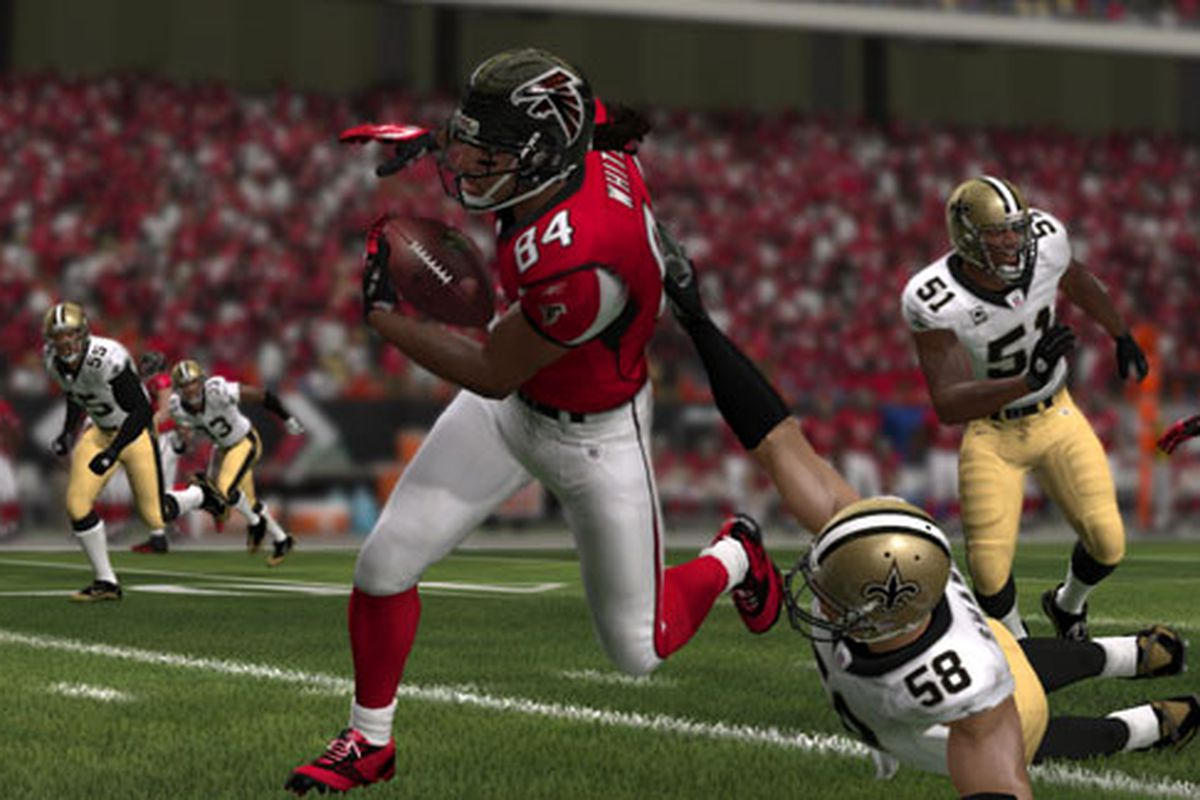 Madden 12: Falcons Ratings Revealed, From Roddy White To Ray Edwards