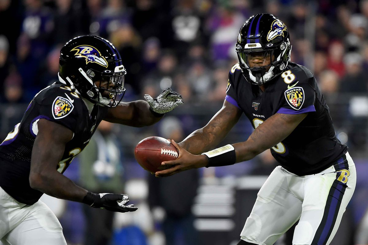 The Film Room The Baltimore Ravens Unstoppable Run Offense Battle Red Blog