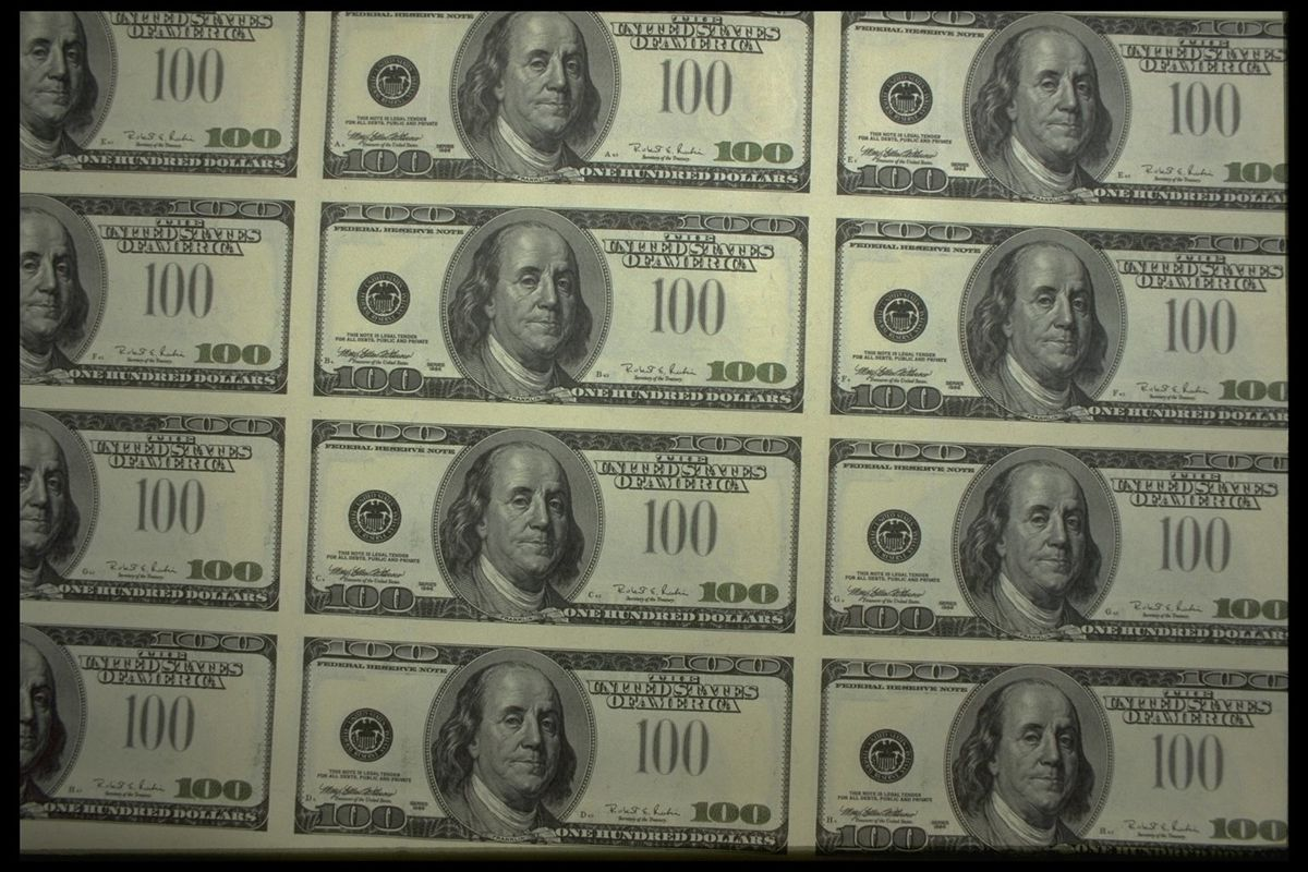 THE NEW 100 DOLLAR BILL