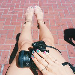 """""""My travel BFF stays close to me so we can capture every moment together."""""""