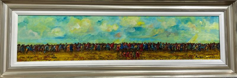 """""""The Great Migration,"""" by Marlene Campbell"""